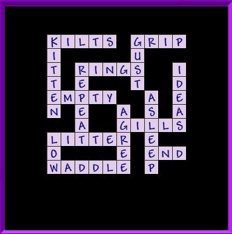 Level 3 General Crossword