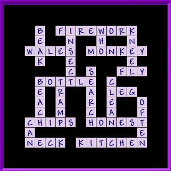 Level 3 - general crossword [second]